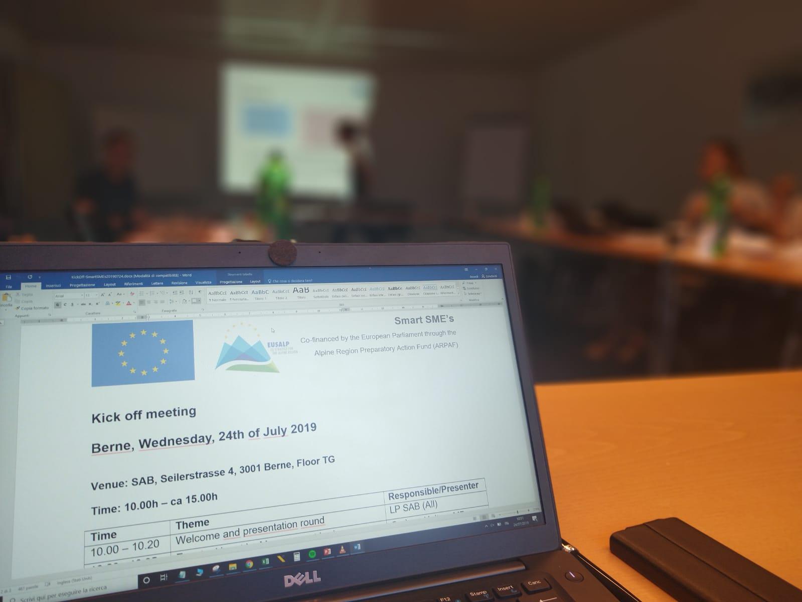 HIT e Provincia autonoma di Trento partner del progetto europeo Smart SME's