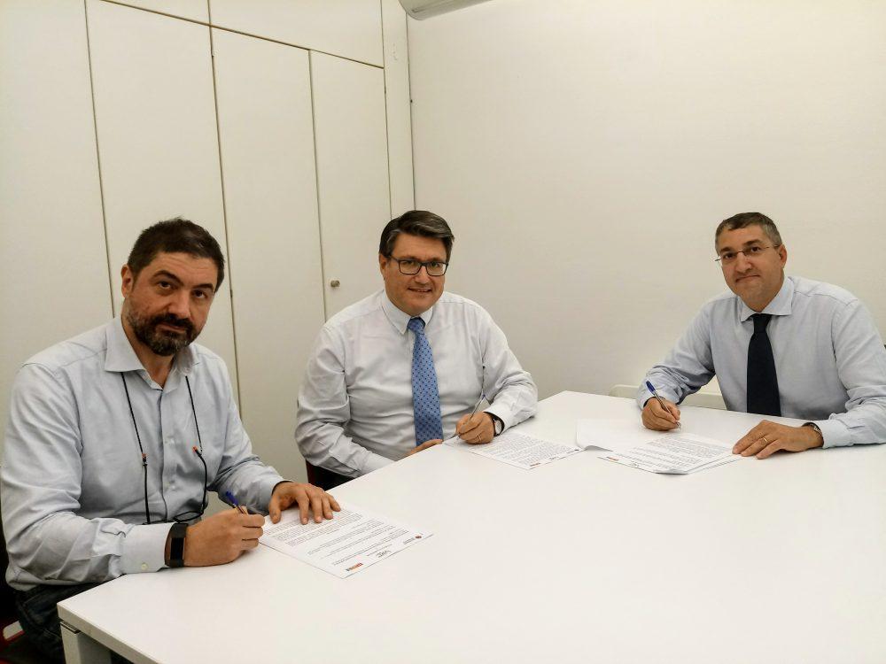 Firmato l'accordo HIT – CIBIO – FVRT