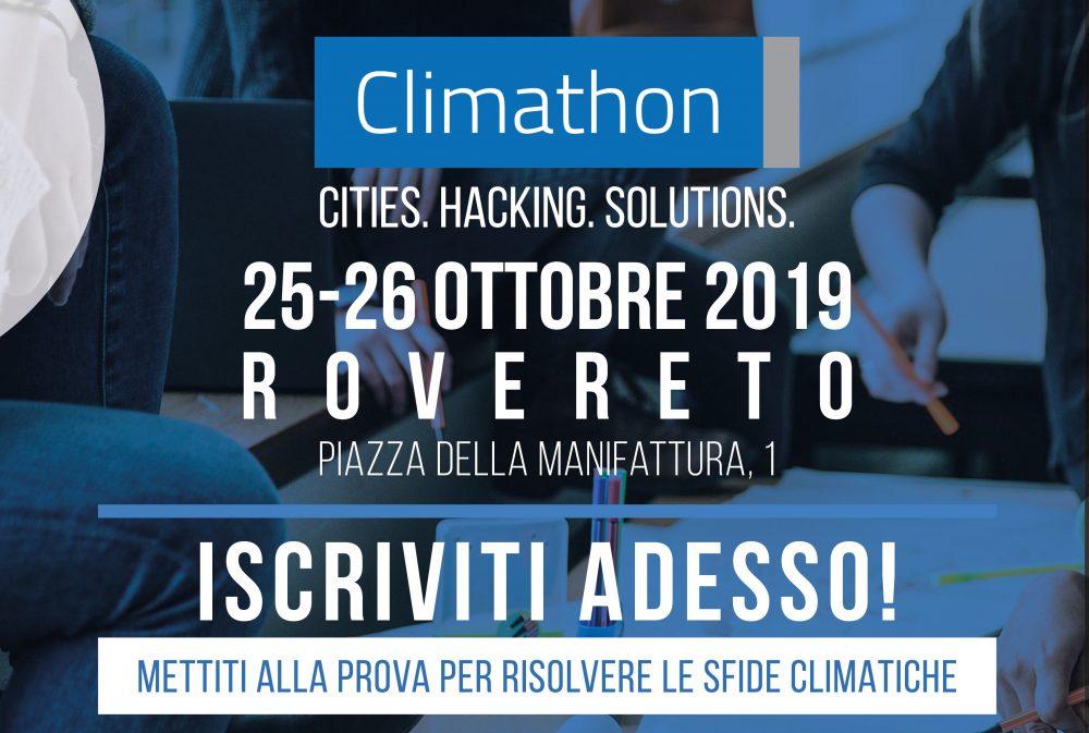 GLOBAL CLIMATHON 2019 | ROVERETO