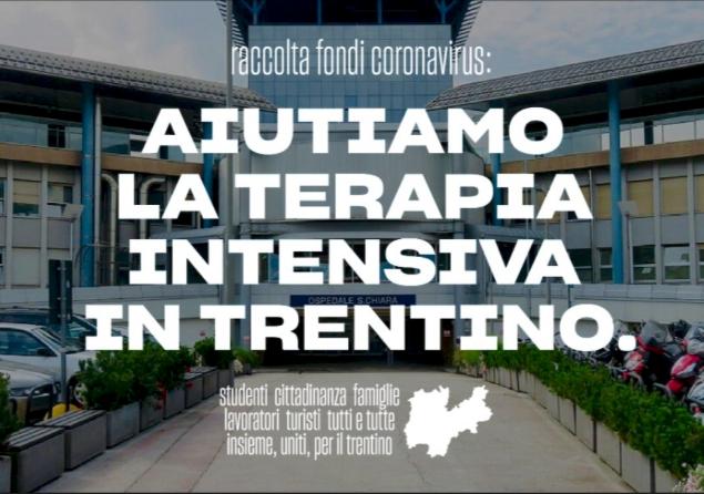 Aiutiamo la Terapia Intensiva in Trentino